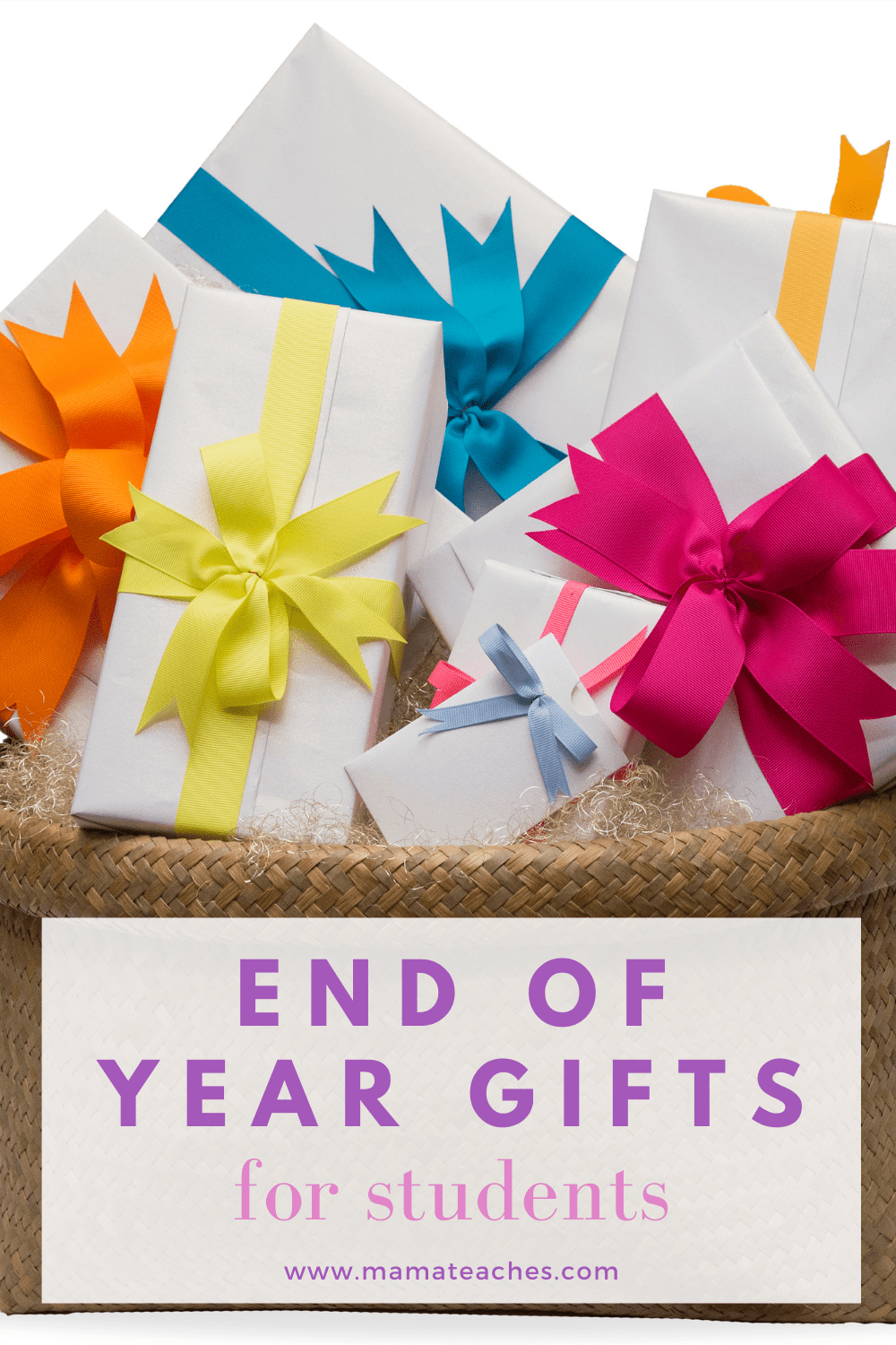 End of Year Gifts for Students