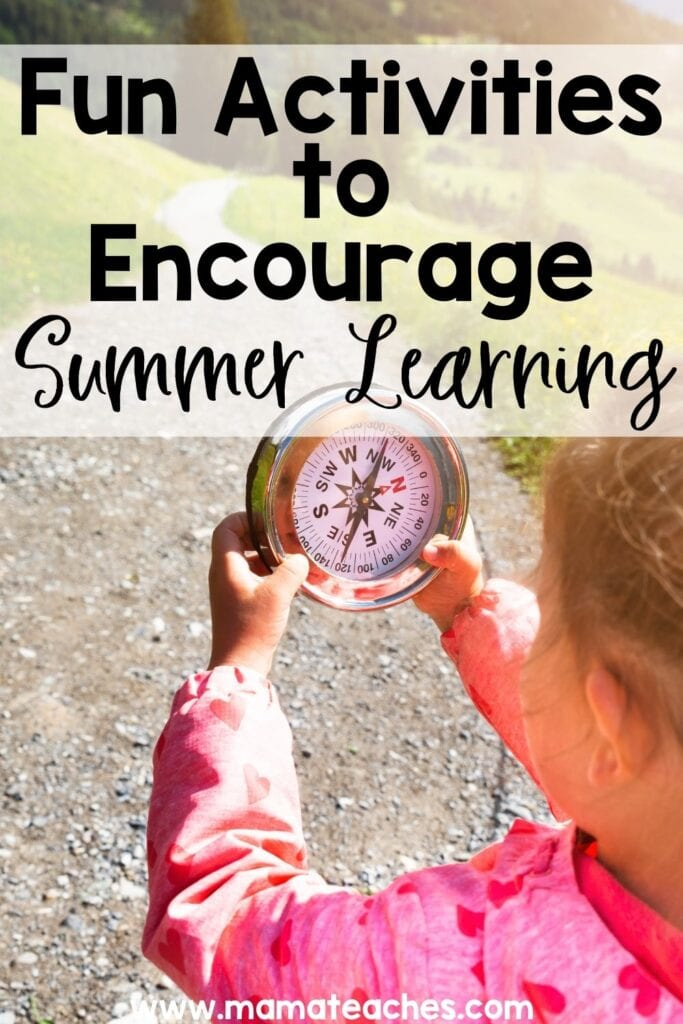 20+ Fun Activities to Encourage Summer Learning