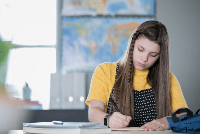 Fun Writing Activities for Middle School