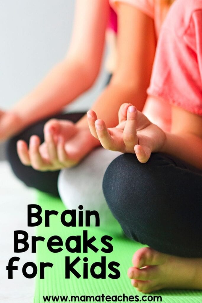 Brain Breaks for Kids in the Classroom and Virtually