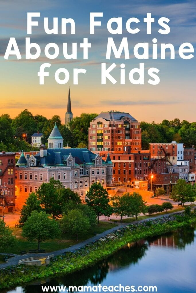 Fun Facts for Kids About Maine