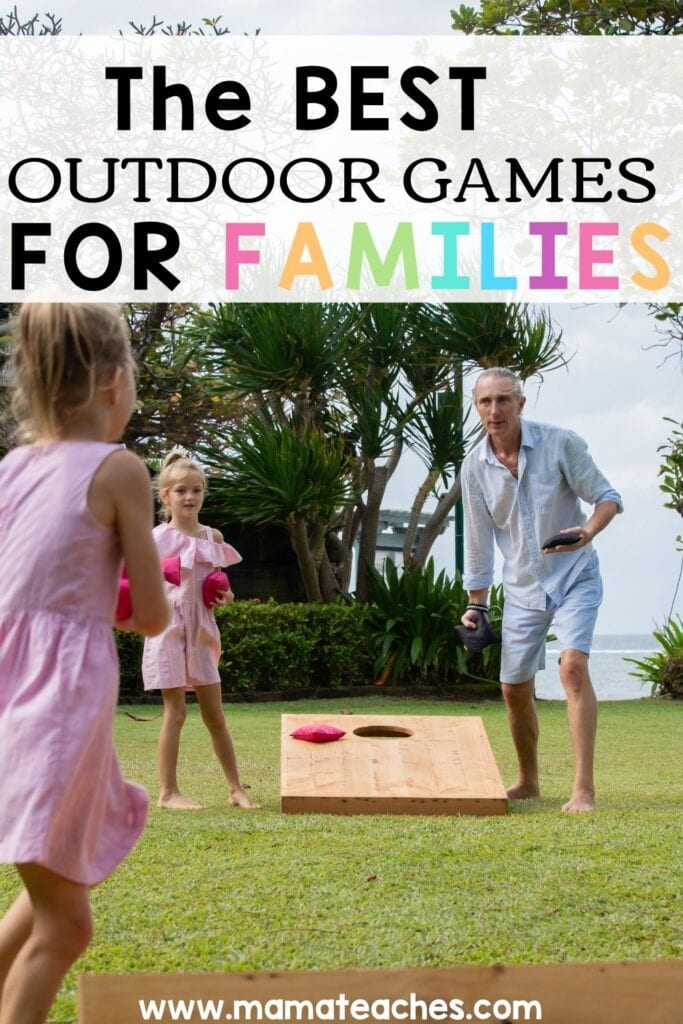 THE BEST OUTDOOR GAMES FOR FAMILIES