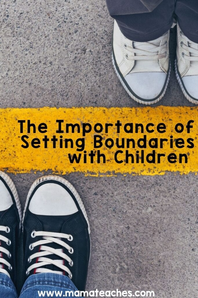 The Importance of Setting Boundaries with Children