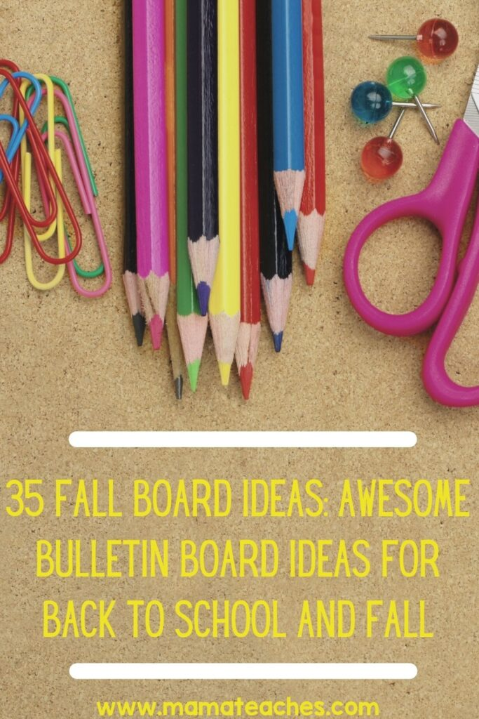 35 Fall Board Ideas Awesome Bulletin Board Ideas for Back to School and Fall
