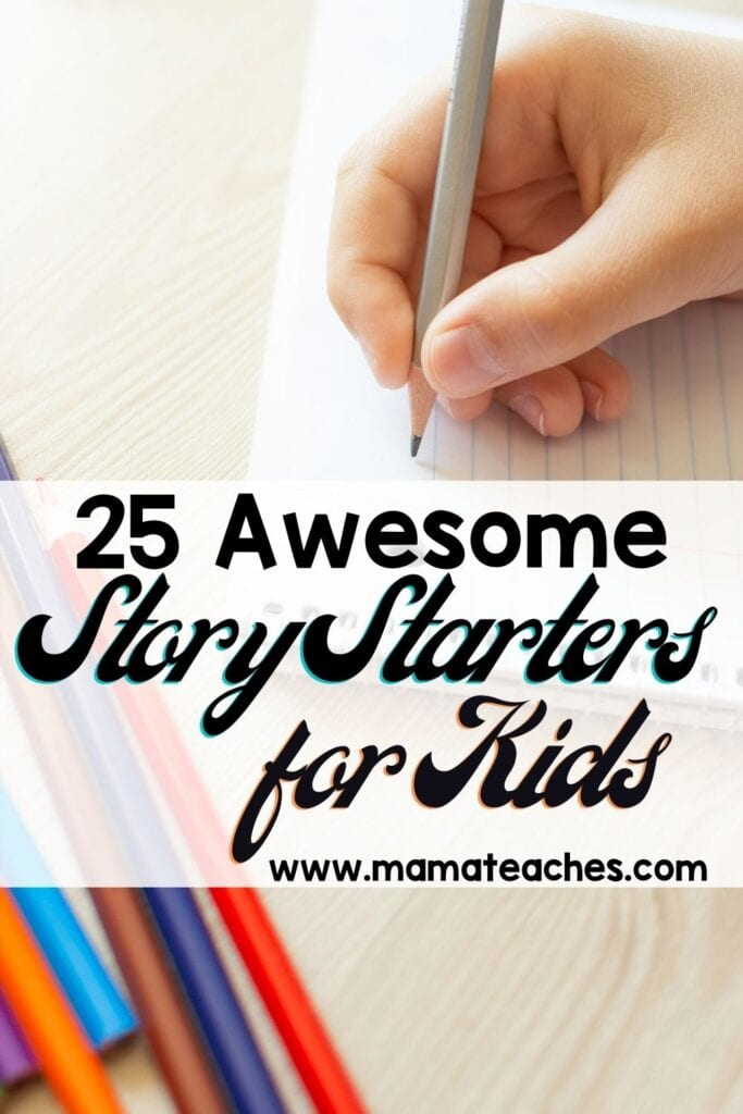 Awesome Story Starters for Elementary and Middle School