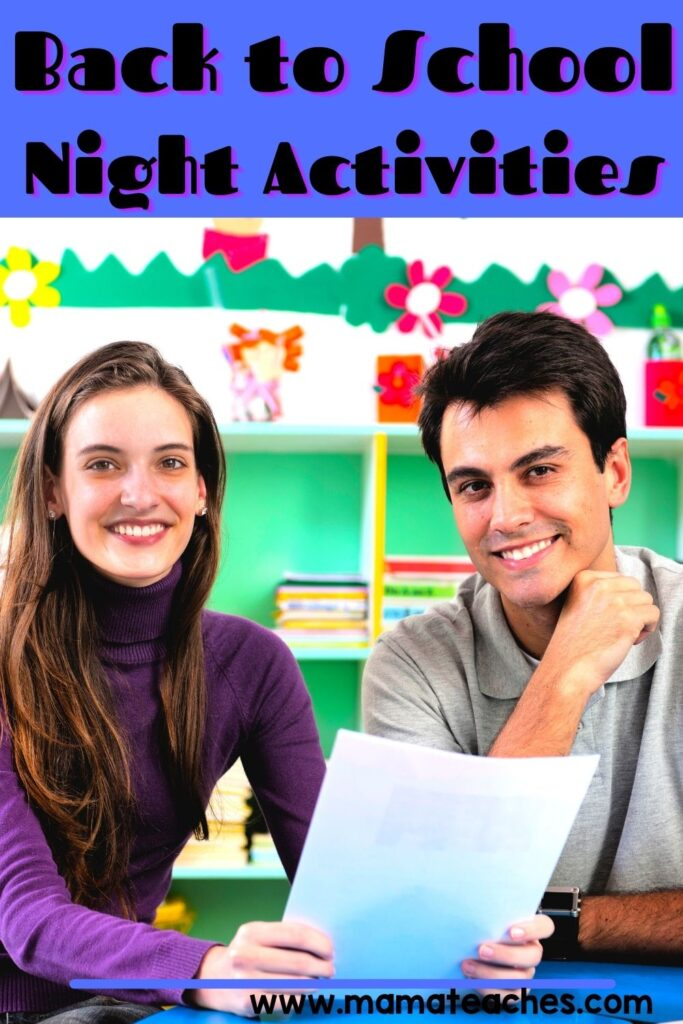 A: Back to School Night Activities