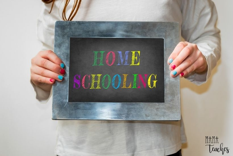 unny First Day of Homeschool Picture Ideas