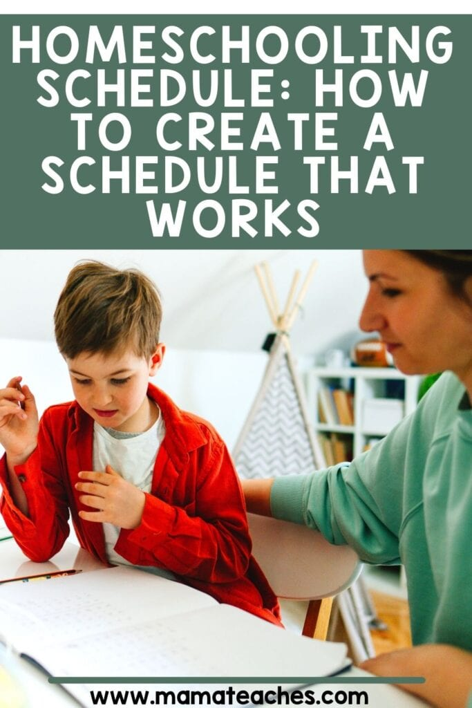 Homeschooling Schedule: How to Create a Schedule That Works