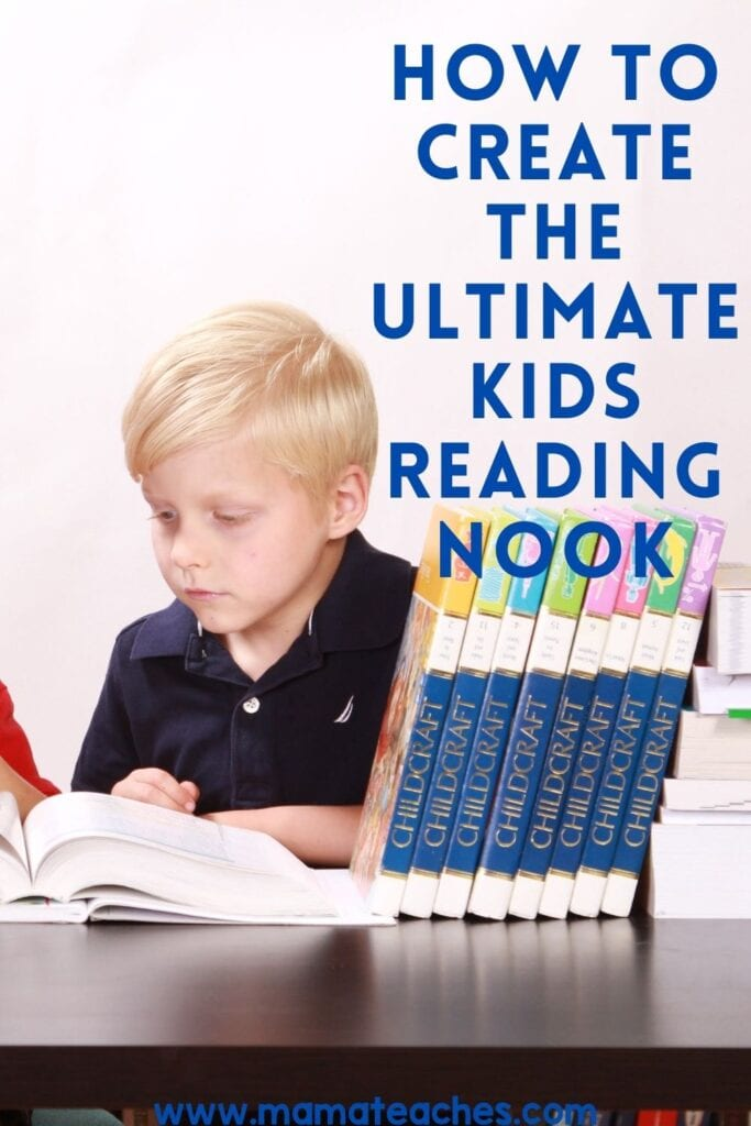 How to Create the Ultimate Kids Reading Nook