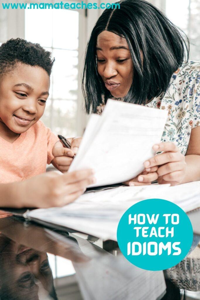 How to Teach Idioms