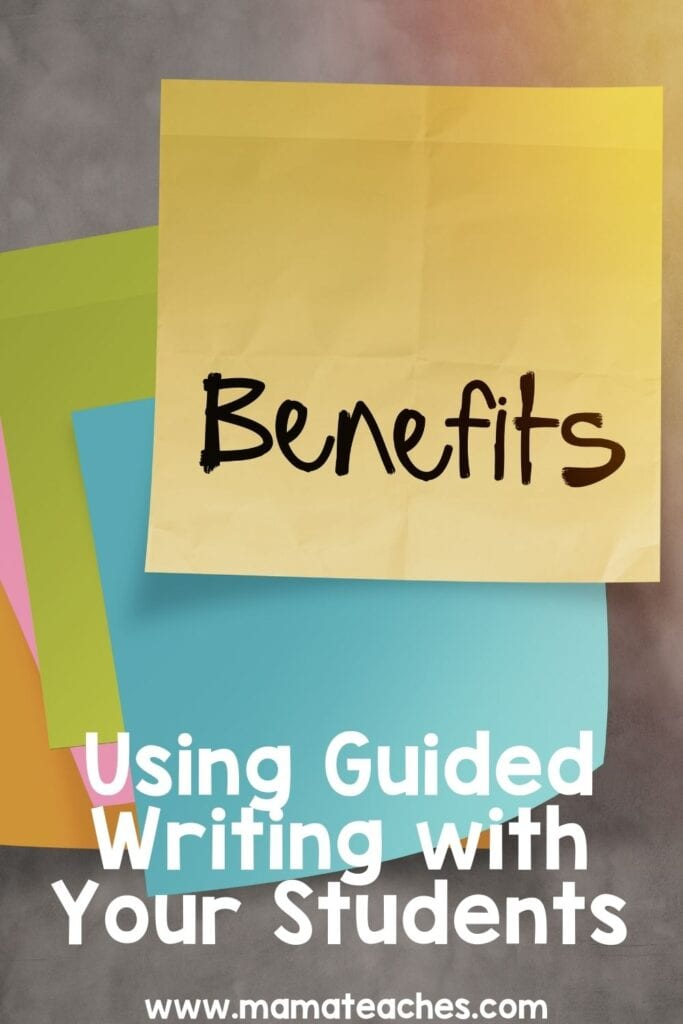 Using Guided Writing with Your Students