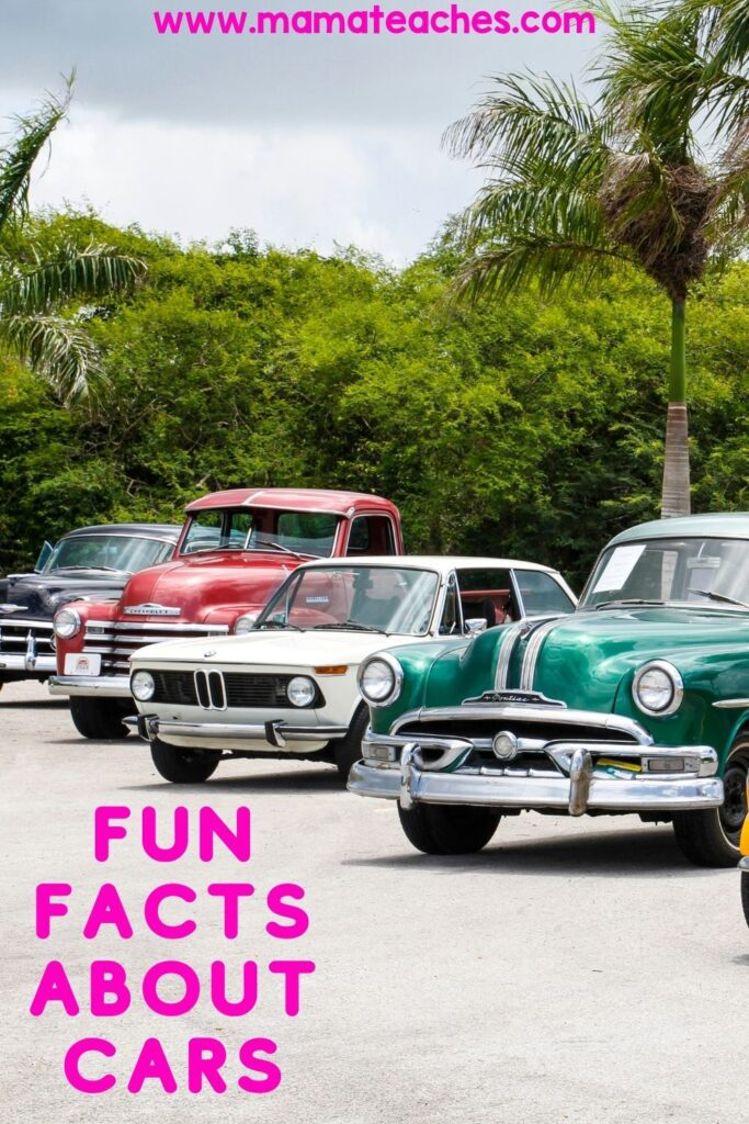 Fun Facts About Cars