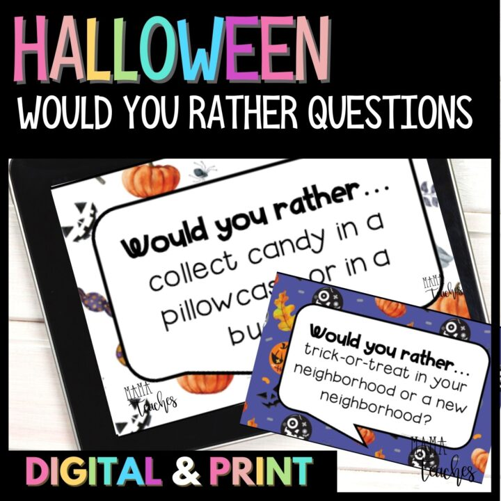 Halloween Would You Rather Questions