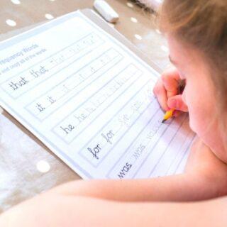 How to Teach Cursive Handwriting