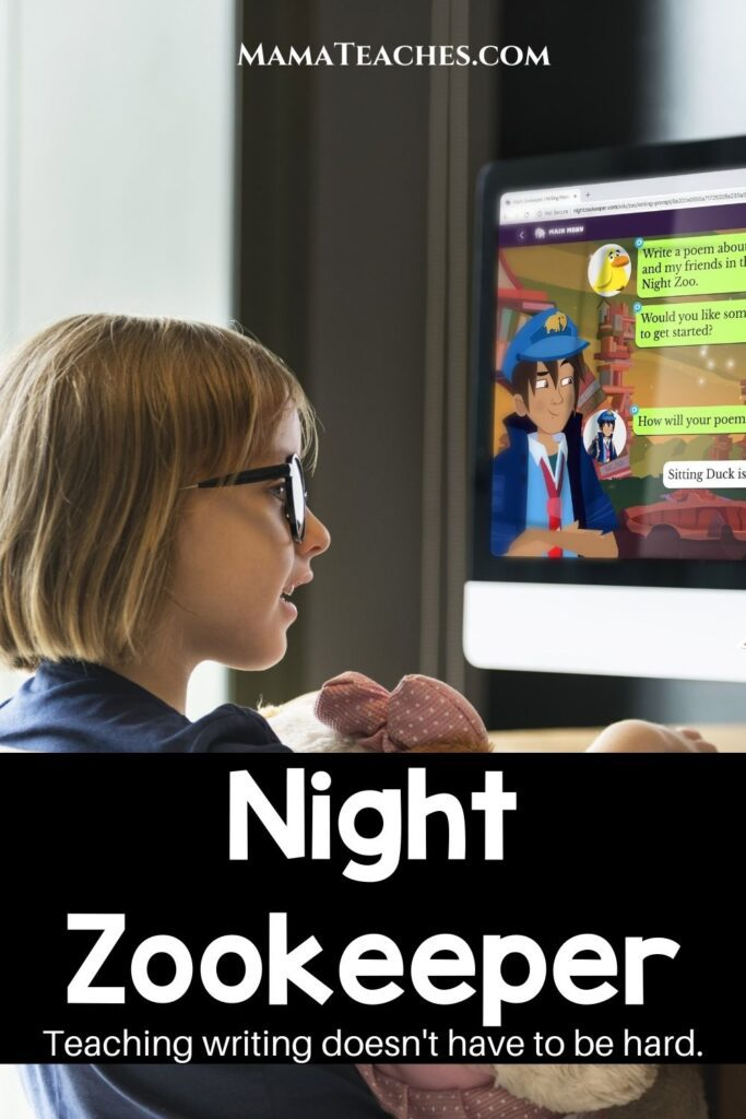 Night Zookeeper - Teaching writing doesn't have to be hard