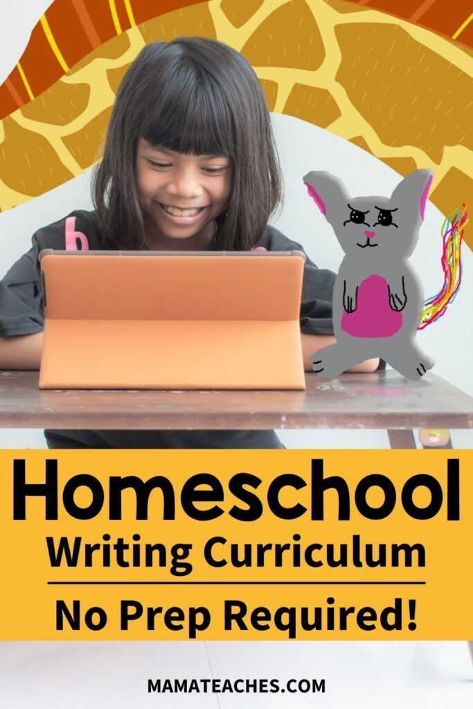 Teach Writing - A Homeschool Writing Curriculum with No Prep Required