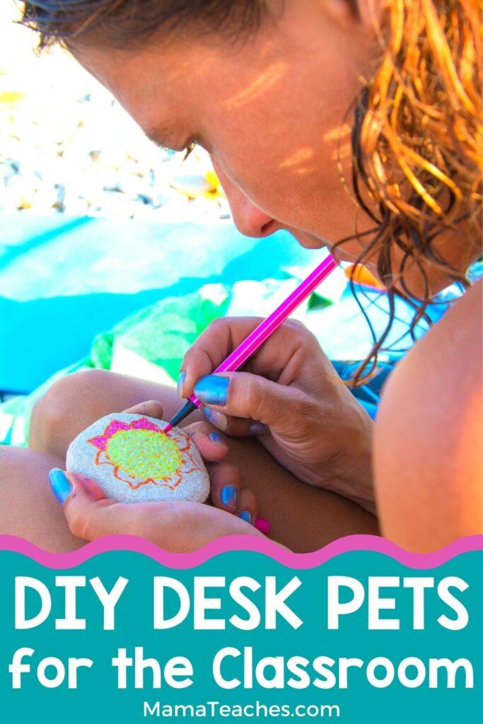 DIY Desk Pets for the Classroom