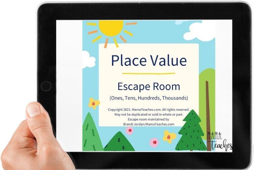 Free Place Value Escape Room