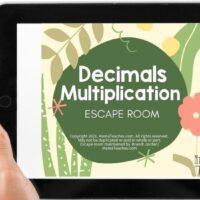 Decimals Multiplication Escape Room